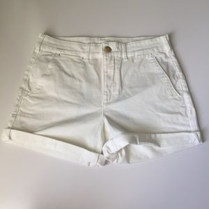Chino by Anthropologie White Chino Shorts Size 28